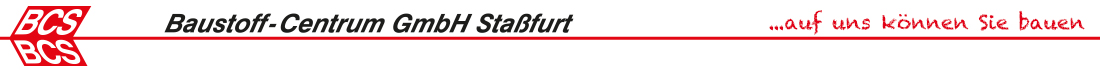 BCS Stassfurt Logo